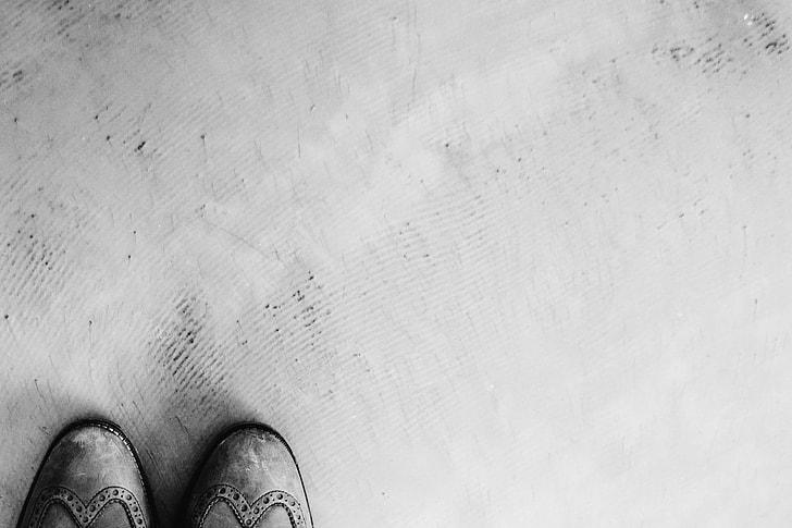 blackandwhite, floor, shoes, backgrounds