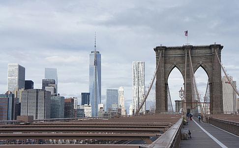 photography of brooklyn bridge