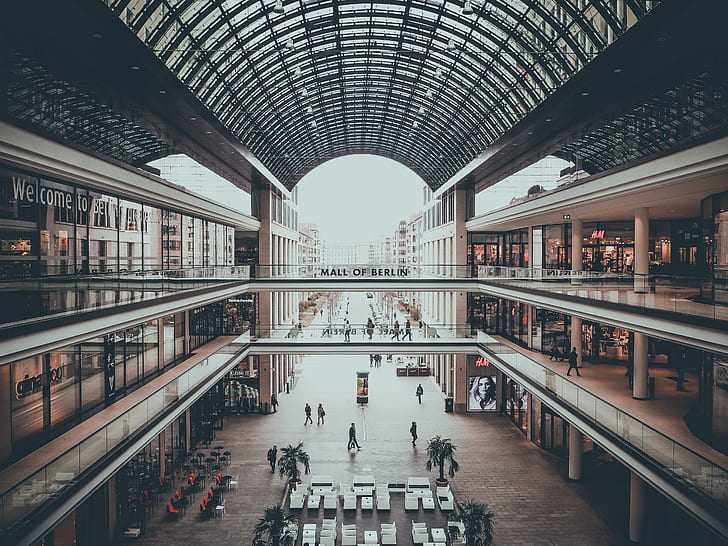 mall interior at daytime