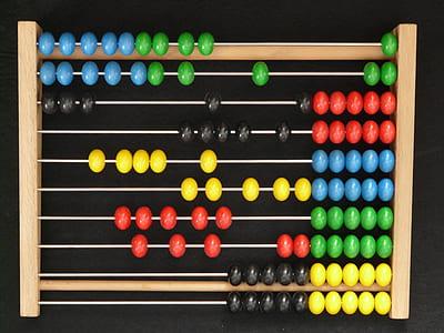 brown abacus