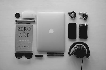 silver MacBook set
