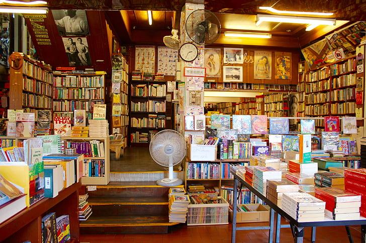 book store setup