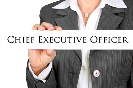 Chief Executive Officer text