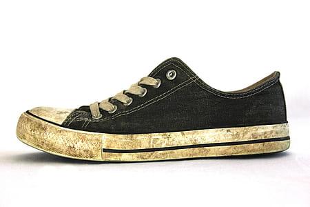 Black White Low Tops Sneakers