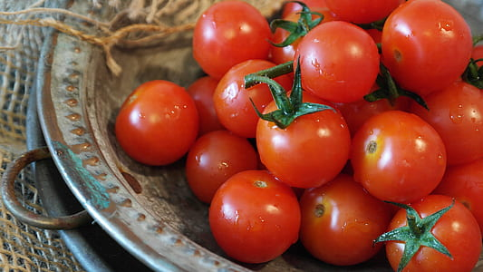 tomatoes on tray
