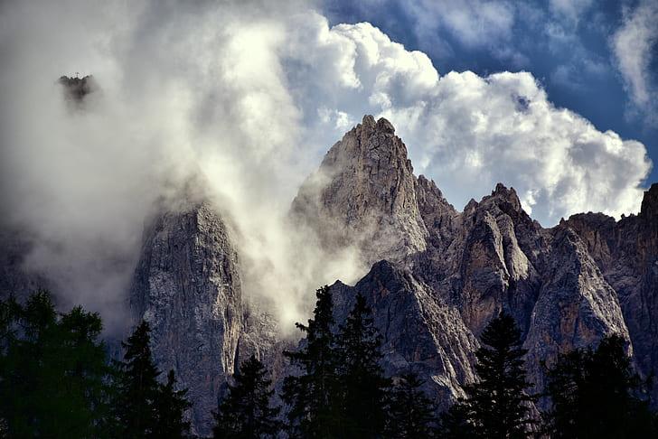 mountain panoramic photo