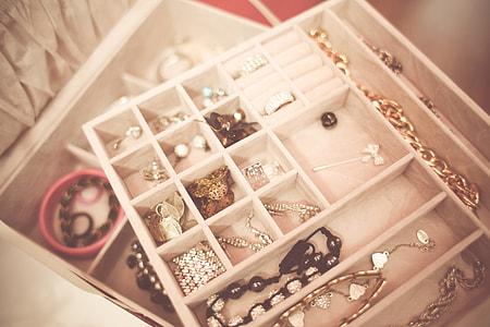 Opened Jewelry Box