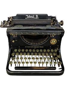 Ideal B. typewriter