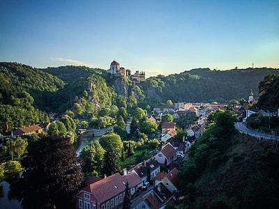 Vranov nad Dyji Town, Czech Republic
