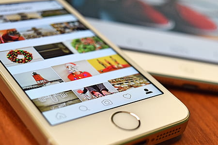 instagram posts on iphone