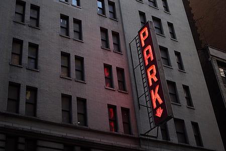 Park LED signage