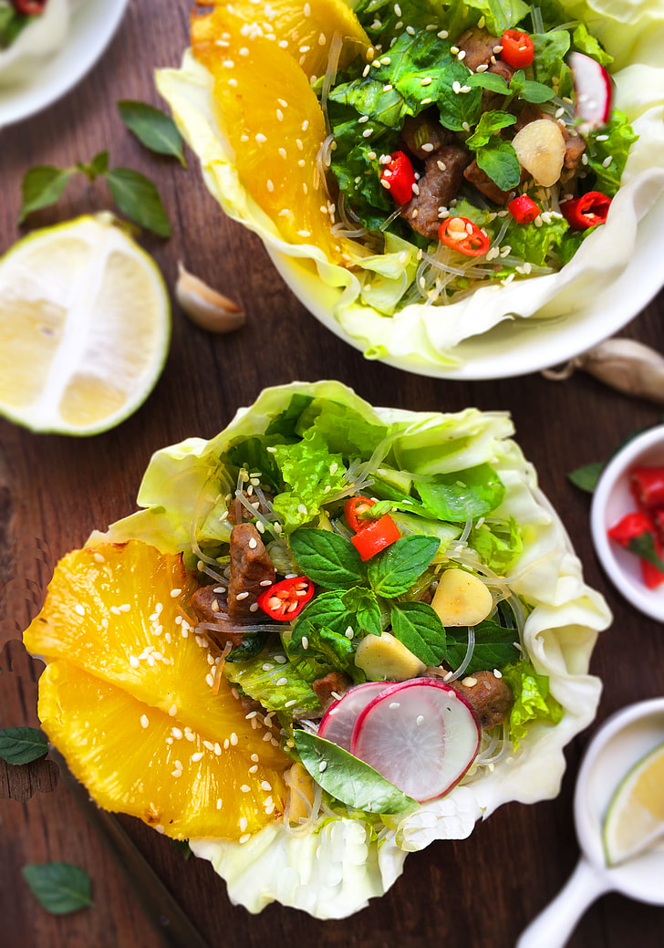Beef  Salad  with  Pineapple
