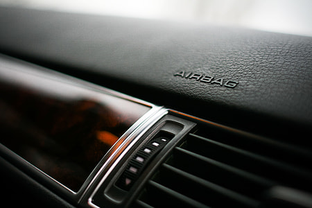 Airbag Mark on a Dashboard