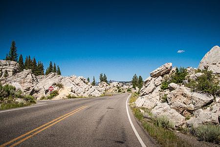 A Road Through Rocks