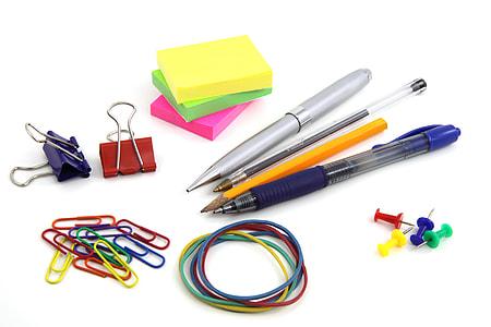photo of assorted school supplies