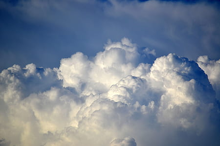 photo of clouds during daytime