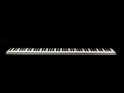 keyboard keys digital wallpaper