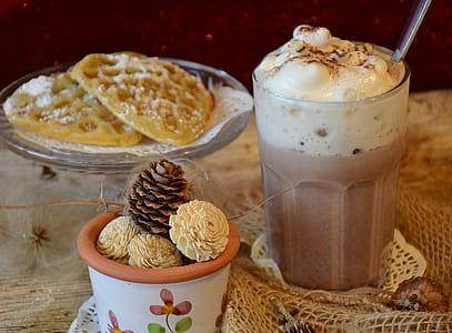 three assorted desserts