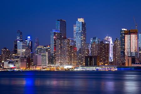 landscape photo of city skyline