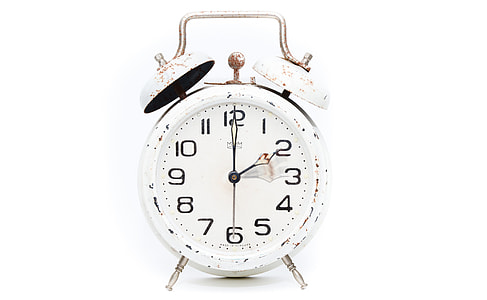 alarm clock at 2:00 am/pm