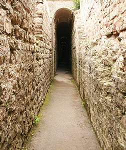 stone tunnel during daytime