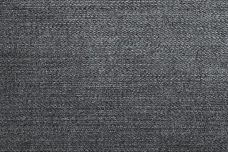 gray, black, cloth, denim, fabric, texture
