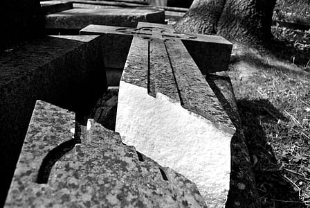 gray concrete bricks
