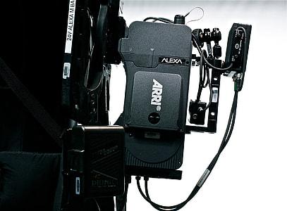 black Arri Alexa device