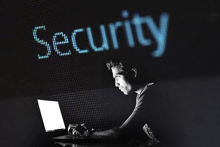 Security graphic wallpaper