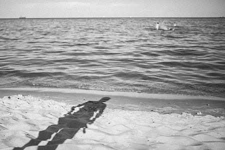 Afternoon at seaside