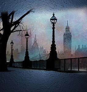 Big Ben Tower illustration