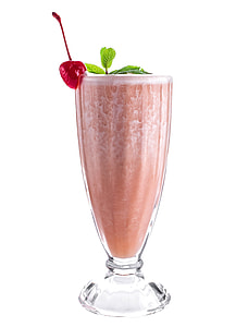 glass of smoothie