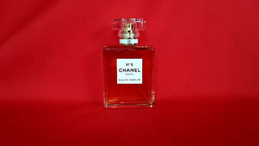 Chanel No. 5 spray bottle