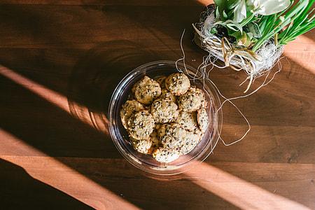 Handmade chocolate cookies