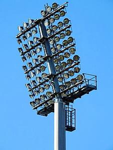 Track Lights Under Blue Sky during Daytime