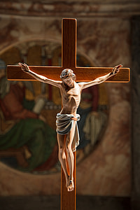 Crucifixion of Christ statuette