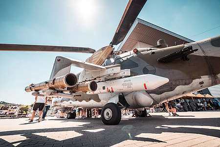 Czech Army Helicopter at Air Show