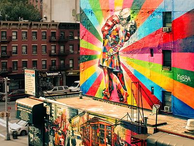 photo of wall art street