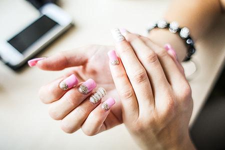 Girl Nail Art Design