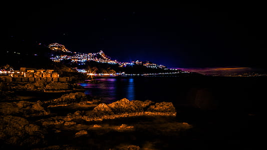 Photography of Illuminated City
