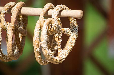 four pretzels