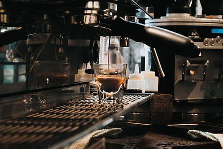photo of black coffeemaker