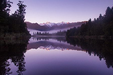 Morning Fog at Lake Matheson