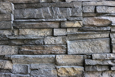stone, wall, texture, pattern, design, architecture