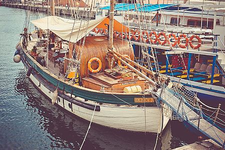Classic Sailing Boat Sea