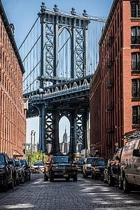 Brooklyn Bridge. New York city
