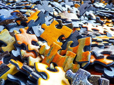 jigsaw puzzle piece lot