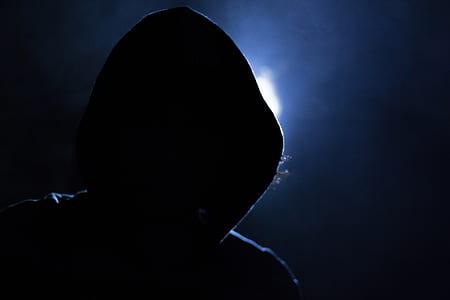 person wearing hoodie