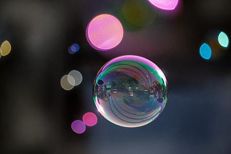 bubble bokeh photography