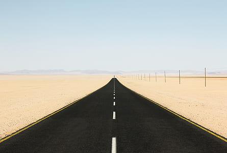 black asphalt road during daytime